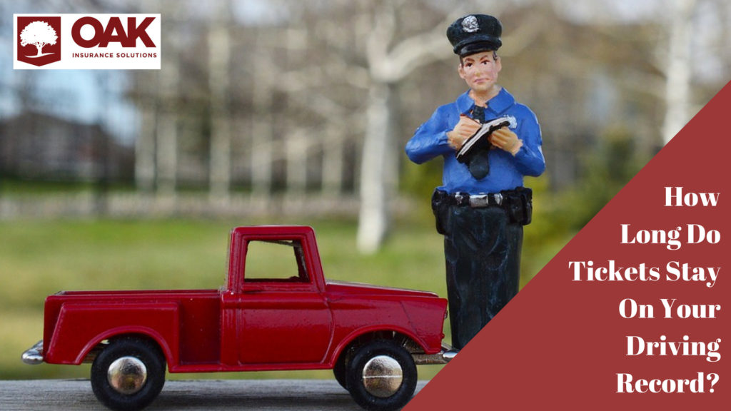Glendora Auto Insurance – How long does a ticket stay on your driving record?